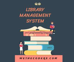Library Management System in Java- wethecoders.com