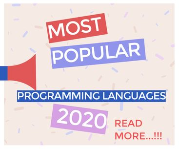 Most popular programming languages -wethecoders.com